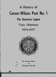 Front Cover of 1977 Post History