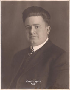 1919 Horace Hagan